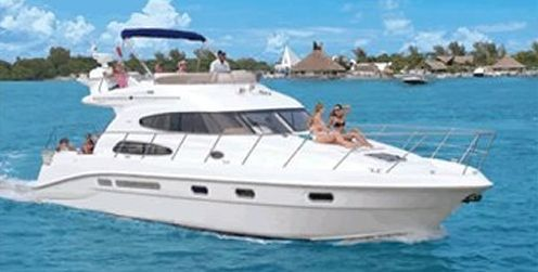 Sealine 47 - 2 Cabins - Cancun - Isla Mujeres - Playa Del Carmen