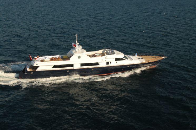 Charter Yacht SEASTAR - Lurssen 44m - 5 Cabins - Bodrum - Marmaris - Gocek - Rhodes - Kos - Symi