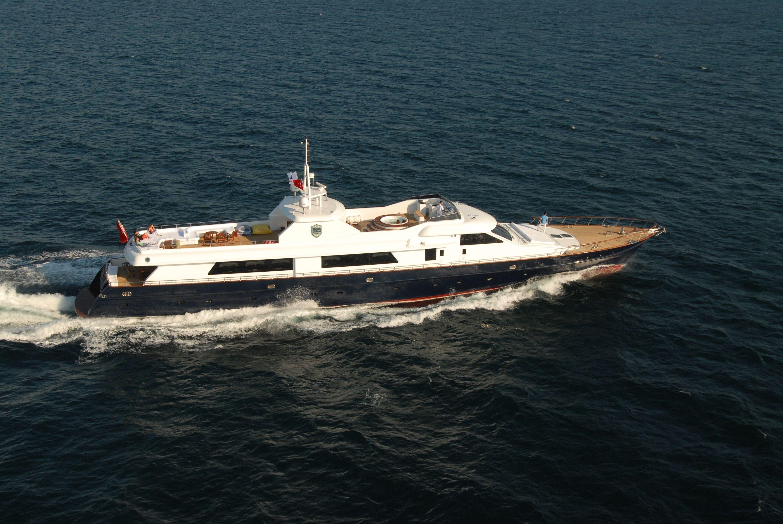 SEASTAR - Lurssen 44m - 5 Cabins - Bodrum - Marmaris - Gocek - Rhodes - Kos - Symi