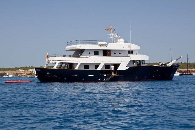 Charter Yacht SEMAYA - 31m Navetta - 5 Cabins - Ibiza - Mallorca - Balearics