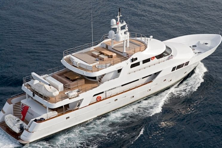 Charter Yacht SENSEI - Mitsubishi 39m - 5 Cabins - San Remo - French Riviera - Italian Riviera