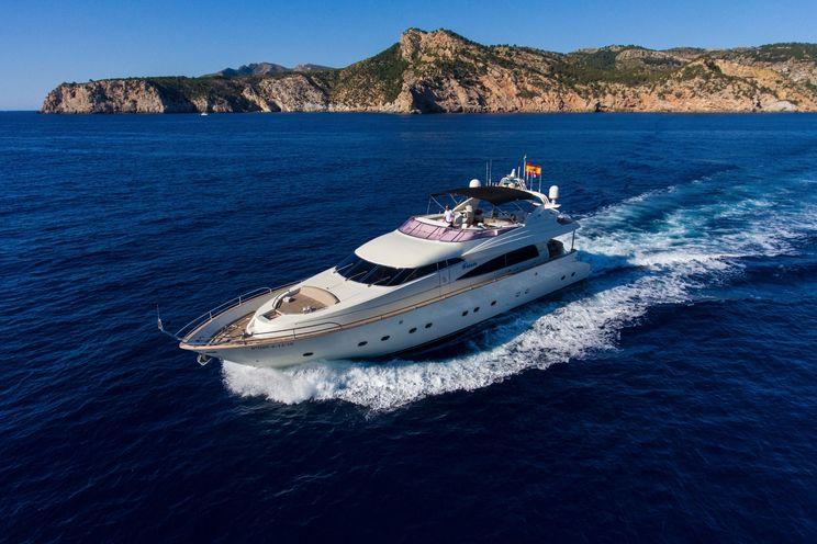 Charter Yacht LEIGH - 27m Mochi craft - 4 cabins - Barcelona - Palma - Ibiza: