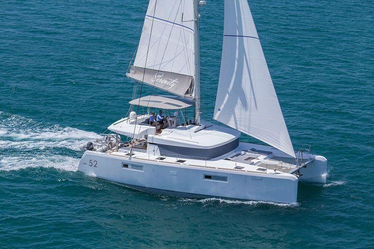 Charter Yacht SERENITY - Lagoon 52 - 5 Cabins - Athens - Lefkas - Corfu - Mykonos - Santorini