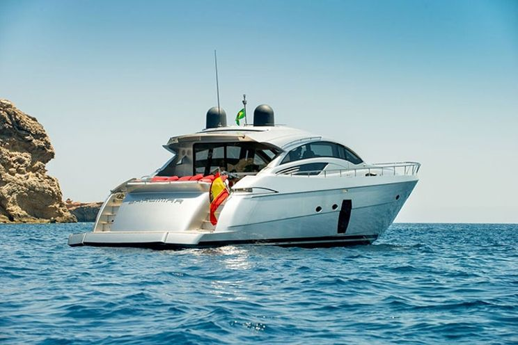 Charter Yacht LEGENDARY - Pershing 72 - 3 Cabins - Ibiza Port - Formentera - Palma - Mallorca - Menorca