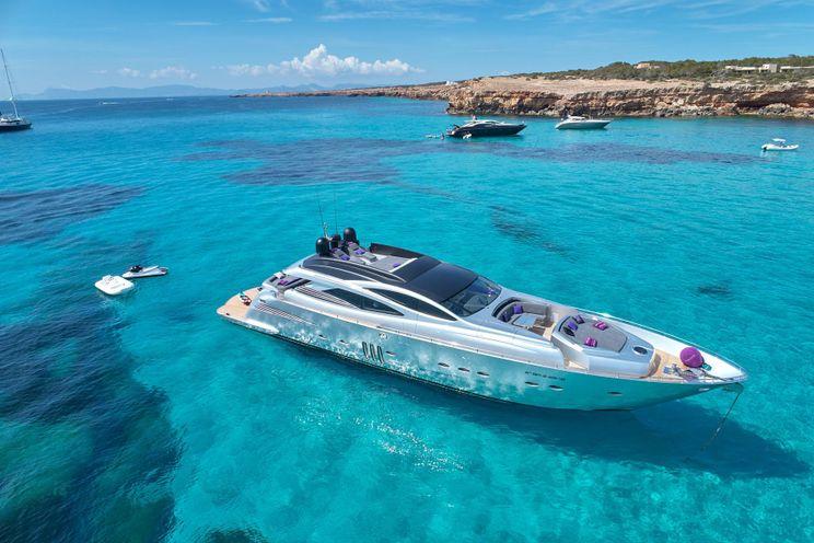 Charter Yacht SHALIMAR II - Pershing 90 - 4 Cabins - Ibiza Port - Formentera - Palma - Mallorca - Menorca