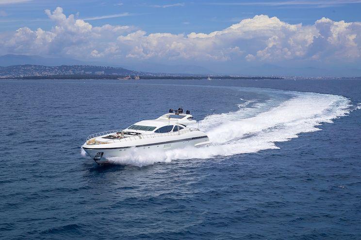 Charter Yacht SHANE - Mangusta 130 - 5 Cabins - Monaco - Cannes - St Tropez