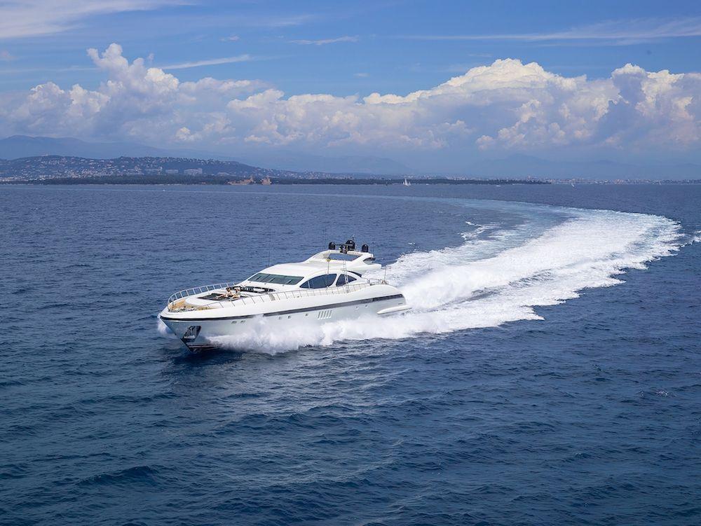 SHANE - Mangusta 130 - 5 Cabins - Monaco - Cannes - St Tropez