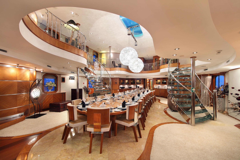 SHERAKHAN - Verkerk 228 - Dining Salon and Atrium