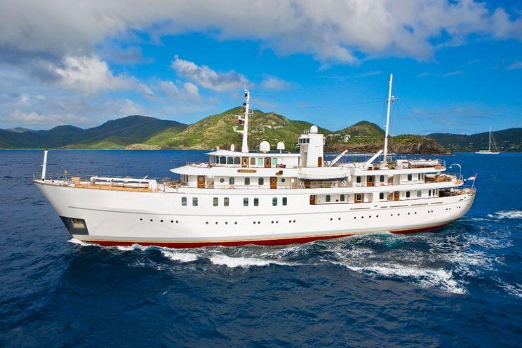 Charter Yacht SHERAKHAN - Verkerk 228 - 13 Cabins - Cannes - Monaco - French Riviera -  Italian Riviera - Caribbean