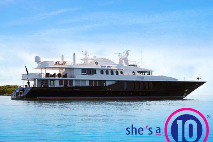 Charter Yacht SHE`S A 10 - Oceanfast 50m - 5 Cabins - Bahamas - Nassau - Abacos - Exumas - Georgetown