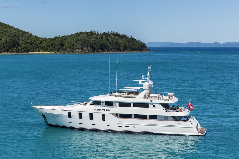 SILENTWORLD - Astilleros M. Cies 129 - 6 Cabins - Australia - Whitsundays - Fiji - Tahiti