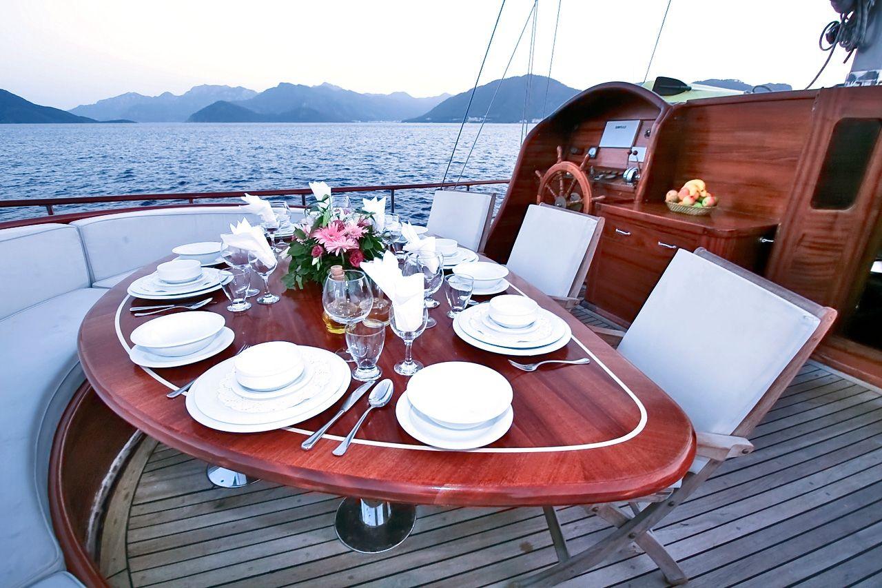 SILVER STAR Amalfi Coast Gulet Charter Al Fresco