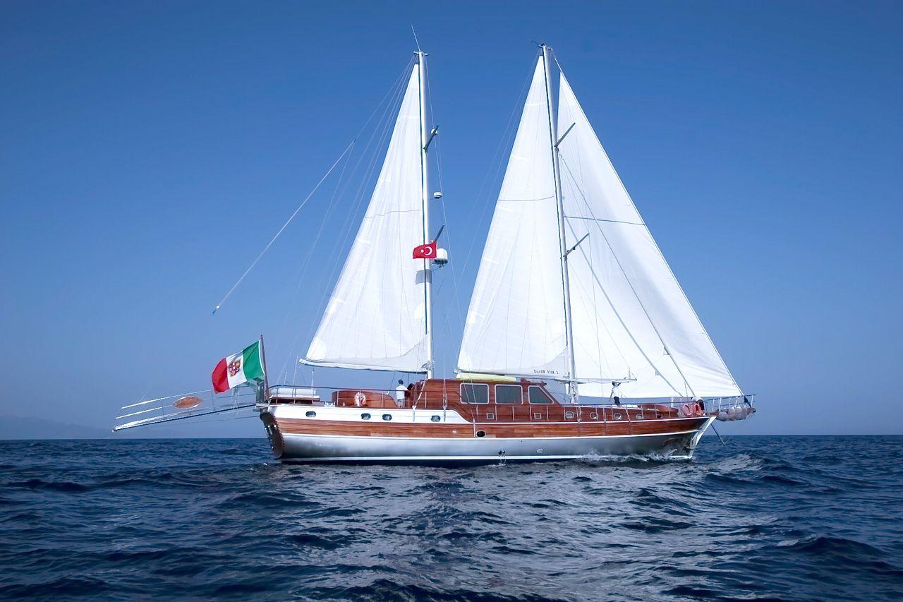 SILVER STAR Amalfi Coast Gulet Charter Sail
