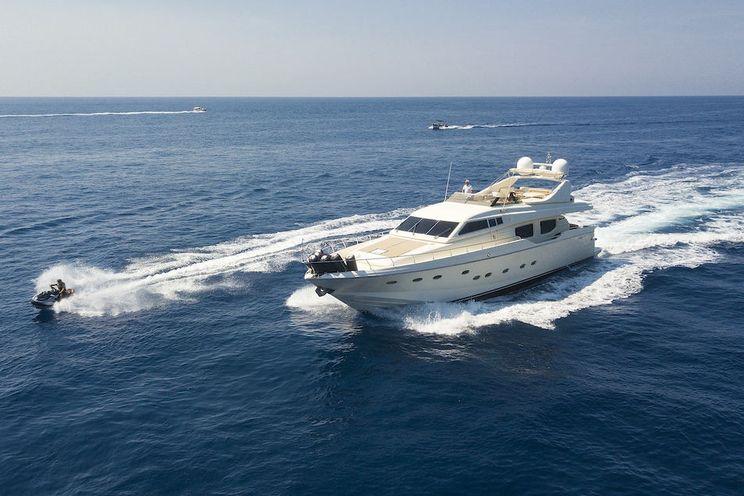 Charter Yacht SILVIA - Rizzardi 85 - 4 Cabins - Naples - Amalfi - Porto Cervo - Sicily