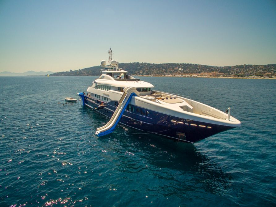 SIROCCO - 47m Heesen - 6 Cabins - Cannes - Monaco - Naples - Sardinia
