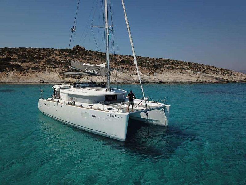 SKY BLU - Lagoon 450 - 4 cabins - Athens - Mykonos - Paros