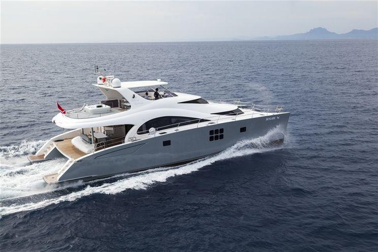Charter Yacht SKYLARK - Sunreef 70 Power - 4 Cabins - Cannes - St Tropez - Monaco - Nice - Antibes