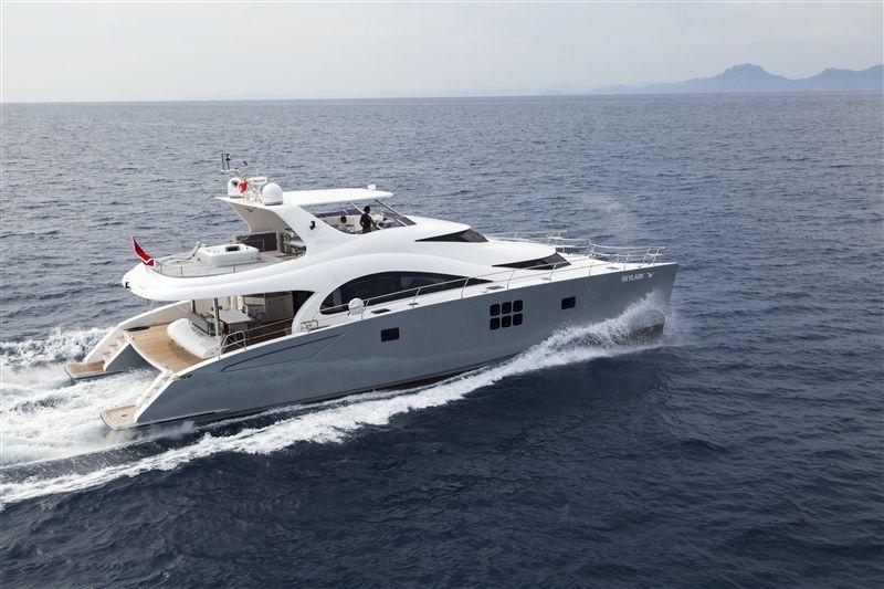 SKYLARK - Sunreef 70 Power - 4 Cabins - Cannes - St Tropez - Monaco - Nice - Antibes