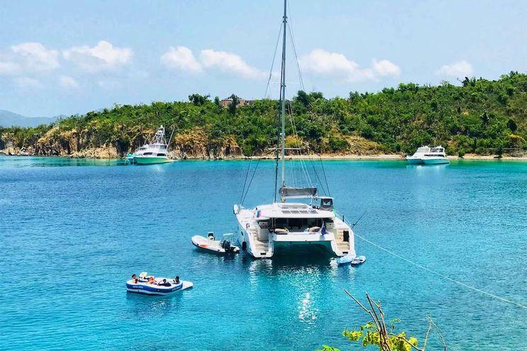 Charter Yacht SLIVOCHKA - Fountaine Pajot Sanya 57 - 4 Cabins - British Virgin Islands