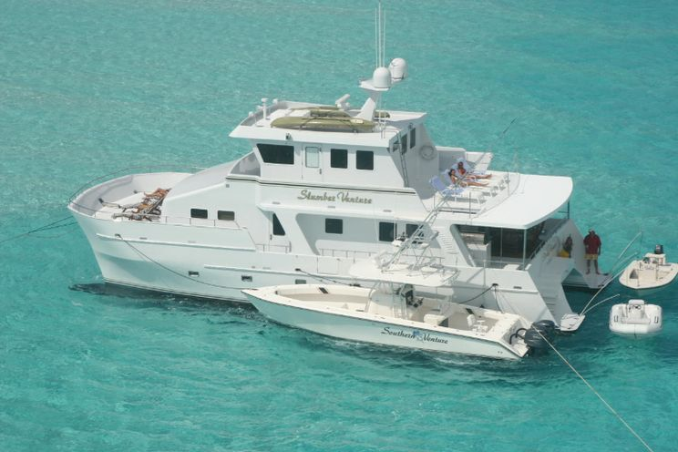 Charter Yacht SLUMBER VENTURE - Custom Power Cat 60 - 3 Cabins - Bahamas - Nassau - Paradise Island - Georgetown