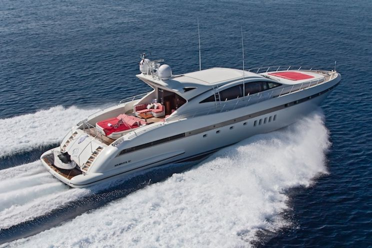 Charter Yacht SOAN - Mangusta 92 - 4 Cabins - Antibes - Cannes - Monaco