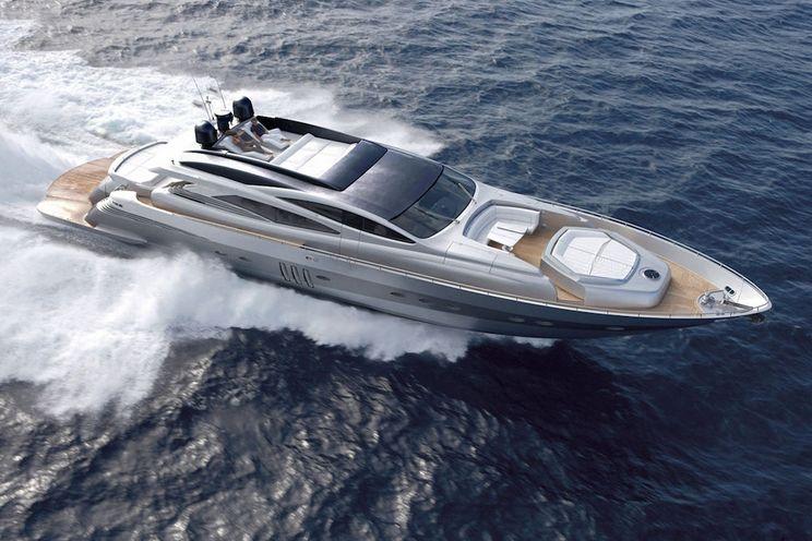 Charter Yacht SOLARIS - Pershing 90 - 4 Cabins - Athens - Paros - Lefkas - Mykonos