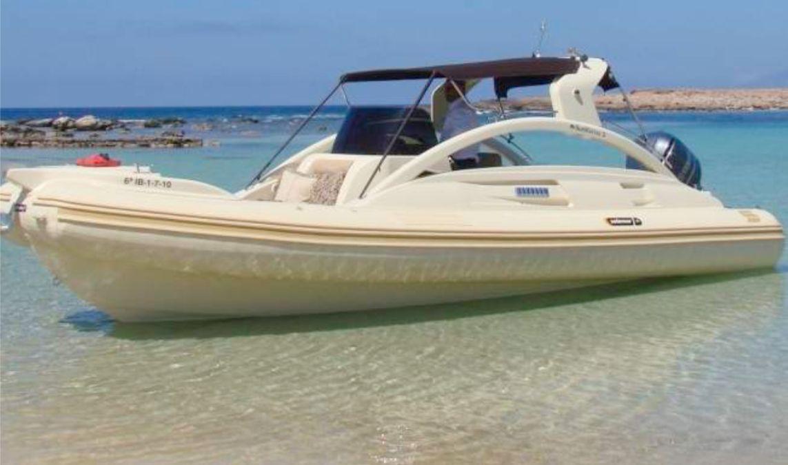 Solemar Zeus 26 - Day Charter - Ibiza Port