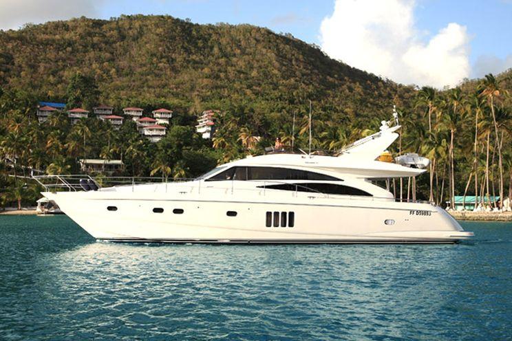 Charter Yacht SORANA - Princess 67 - 3 Cabins - BVI - St. Martin - St. Barths - Antigua - Grenadines