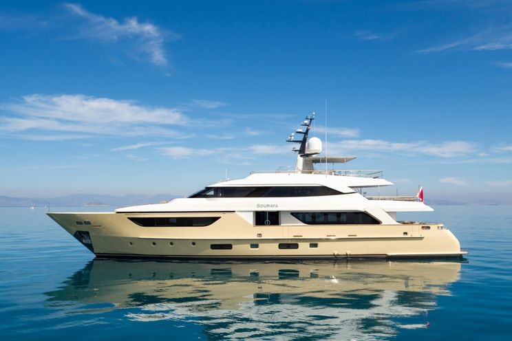 Charter Yacht SOURAYA - Sanlorenzo 38m - 5 Cabins – Athens - Mykonos - Zakynthos