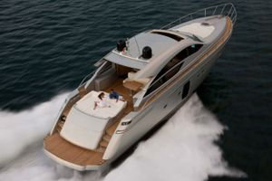 SPLENDID V - Pershing 64 - 3 Cabins - Monaco - Antibes - Cannes - St Tropez