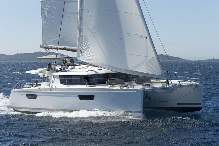 Charter Yacht Fountaine Pajot Saba 50 - 2018 - 6 + 1 Cabins - Seychelles,Mahe,Praslin