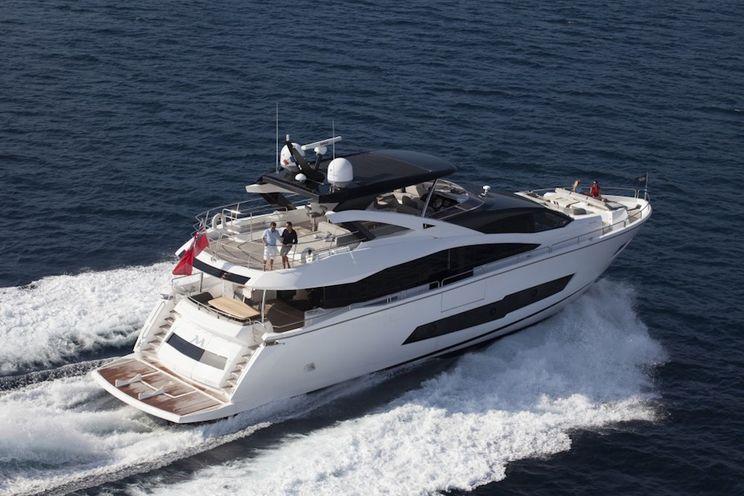 Charter Yacht STARDUST OF POOLE - Sunseeker 86 - 4 Cabins - Split - Hvar - Dubrovnik