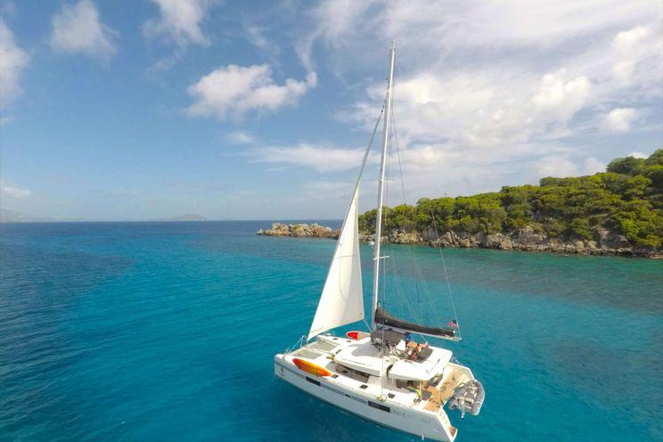 Charter Yacht SOUTHERN COMFORT - Lagoon 520 - 4 Cabins - Caribbean - US Virgin Islands - Windward Islands - Leewards Islands