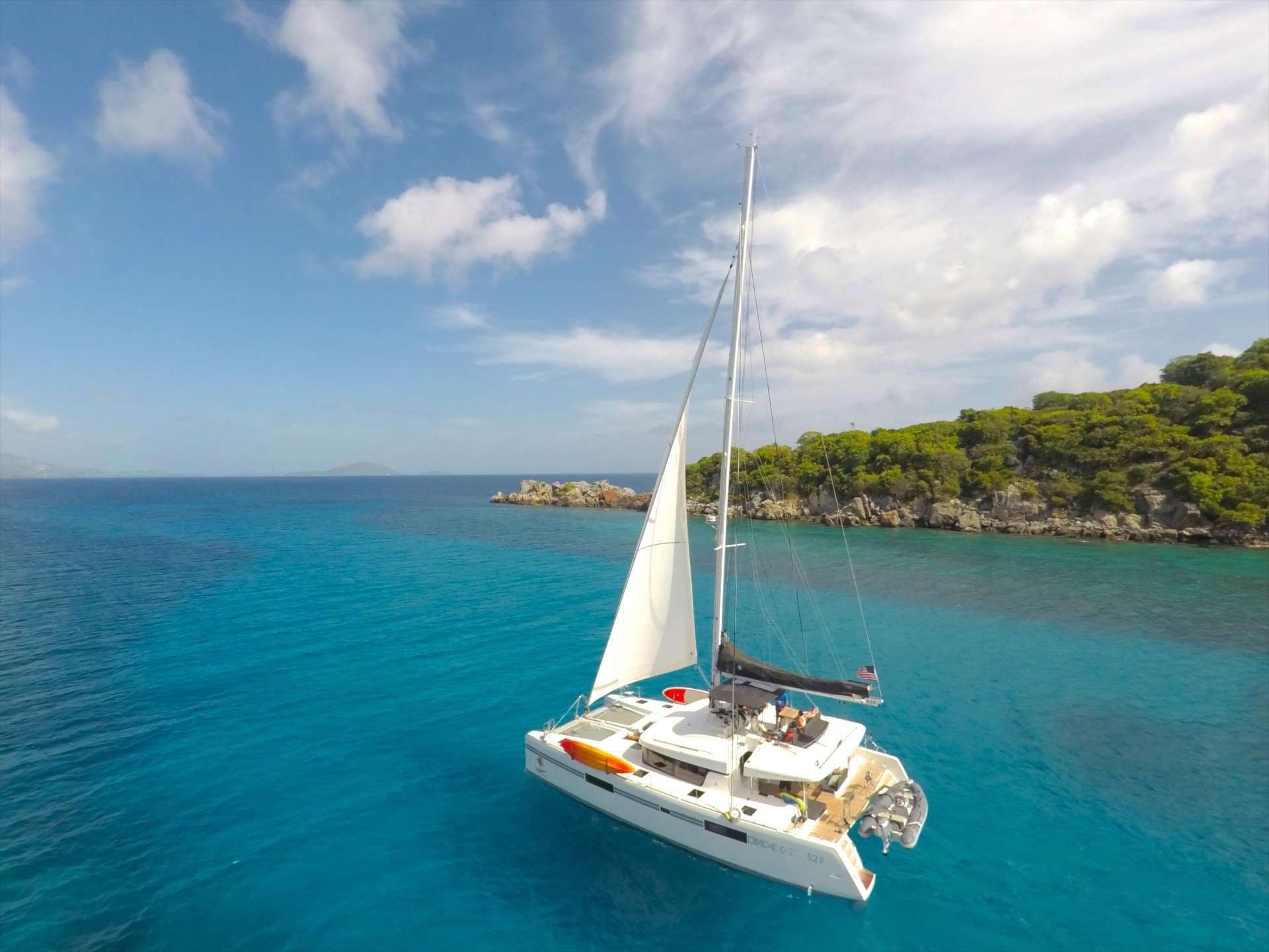 SOUTHERN COMFORT - Lagoon 520 - 4 Cabins - Caribbean - US Virgin Islands - Windward Islands - Leewards Islands