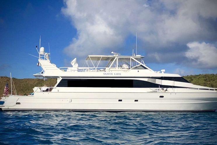 Charter Yacht SUITE LIFE - Tarrab Yachts - 4 Cabins - St Thomas - Virgin Islands