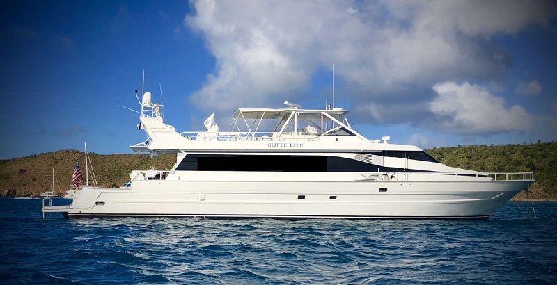 SUITE LIFE - Tarrab Yachts - 4 Cabins - St Thomas - Virgin Islands