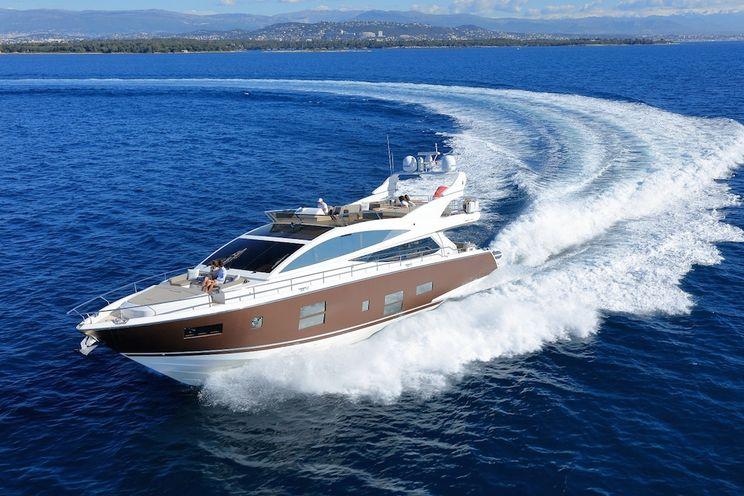 Charter Yacht SUMMER BREEZE - Pearl 75 - 4 Cabins - Cannes - Golfe Juan - Monaco - Antibes - St Tropez