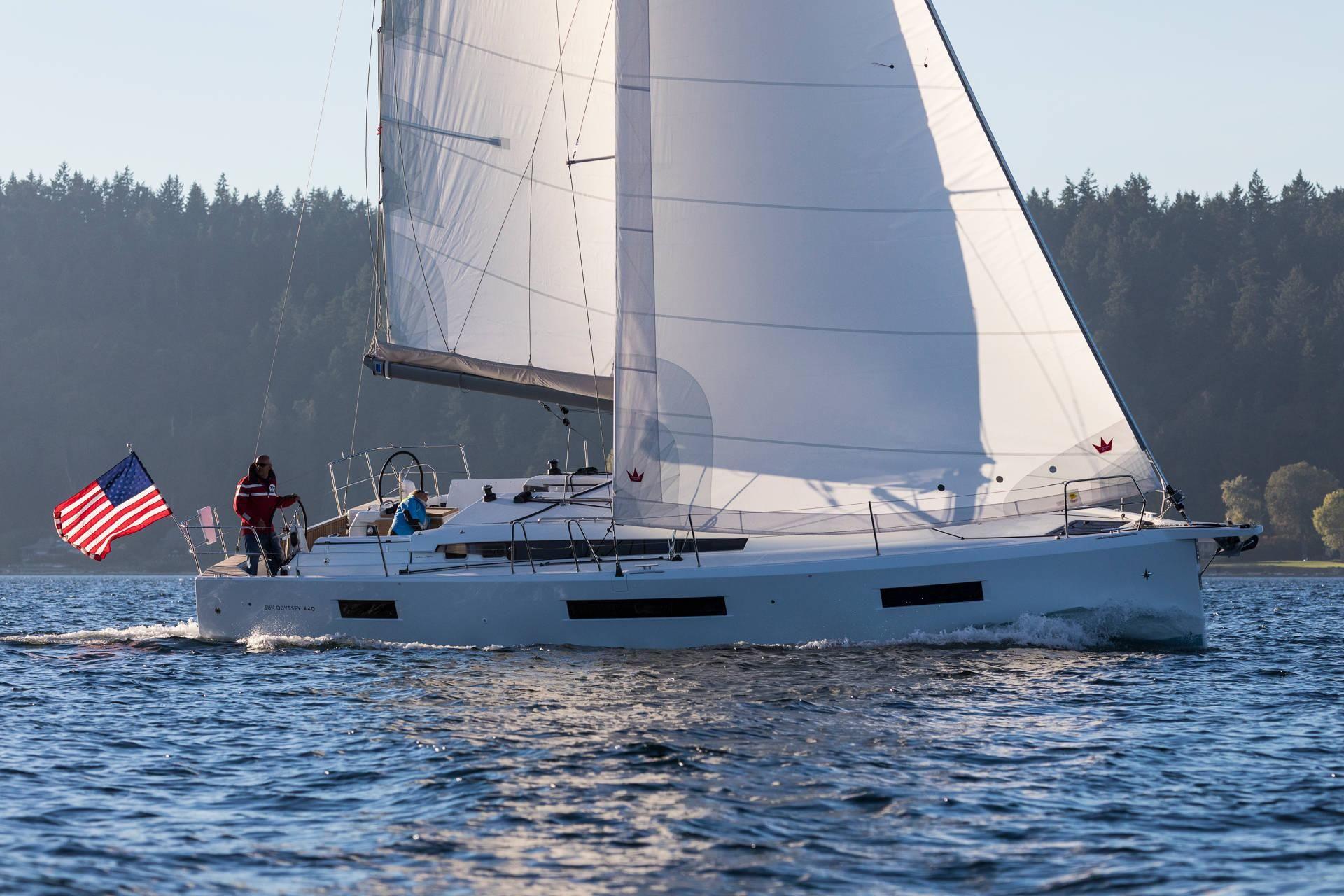 Sun Odyssey 440 - 4 cabins (4 double) - 2020 - Lefkas - Fiskardo - Kalamos