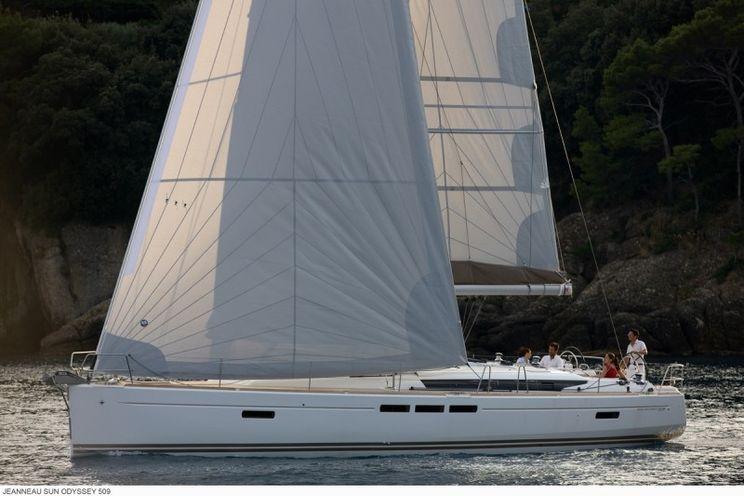 Charter Yacht Sun Odyssey 509 - 5 Cabins - Malta