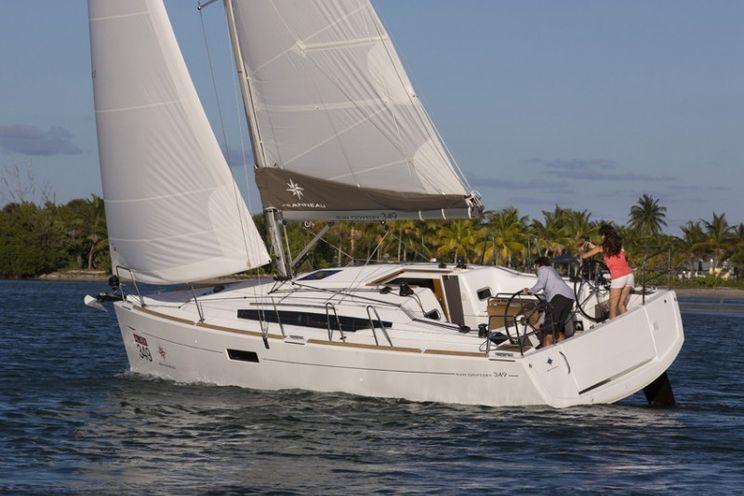 Charter Yacht Sun Odyssey 349 - 3 cabins(3 double)- 2018 - Lefkas