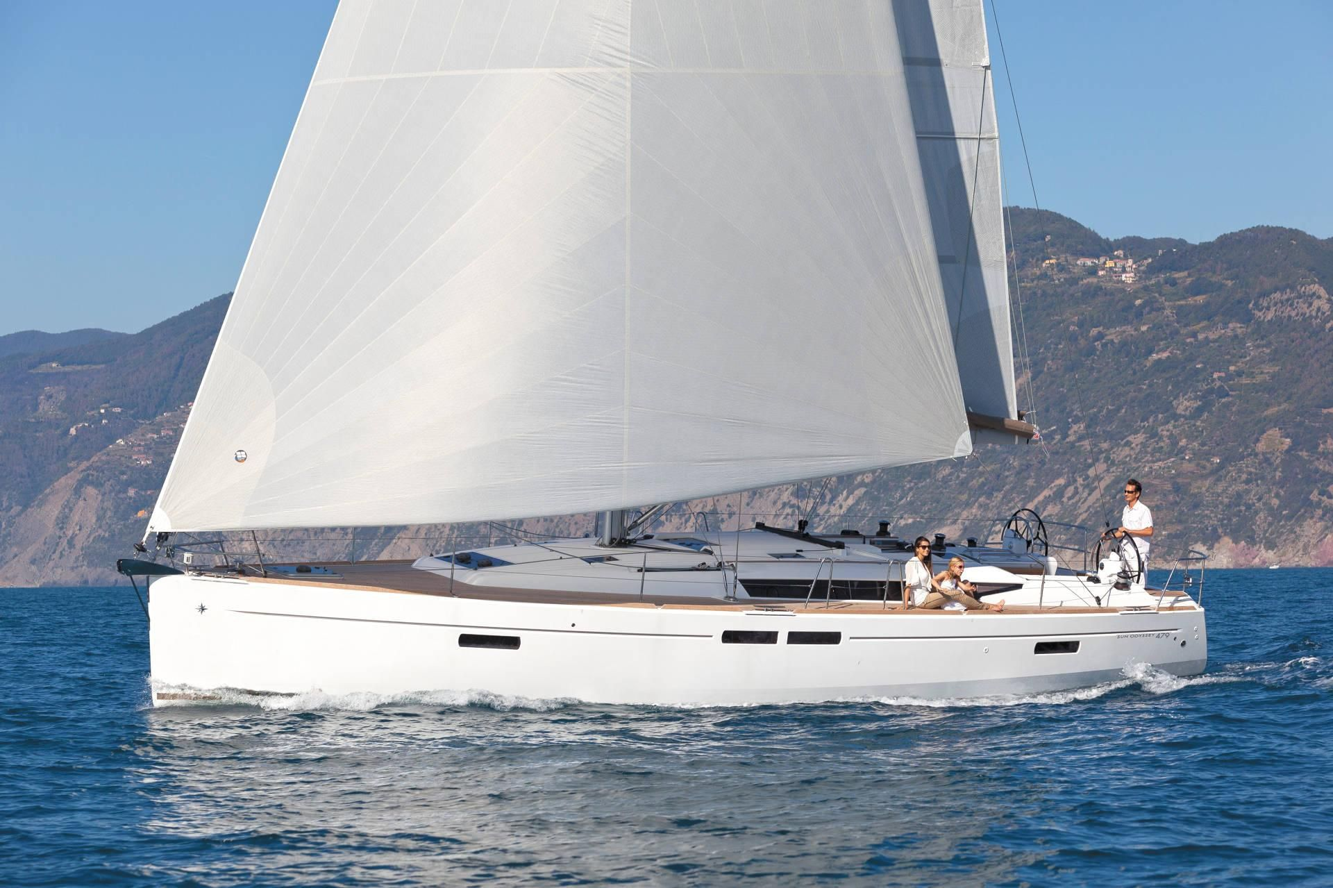 Sun Odyssey 479 - 4 Cabins(4 double)- 2018 - Athens - Alimos