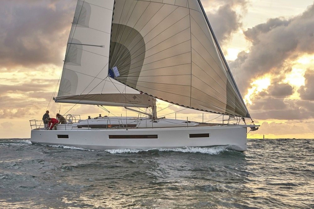 Sun Odyssey 490 - 4 + 1 cabins (4 double 1 single) - 2020 - Corfu