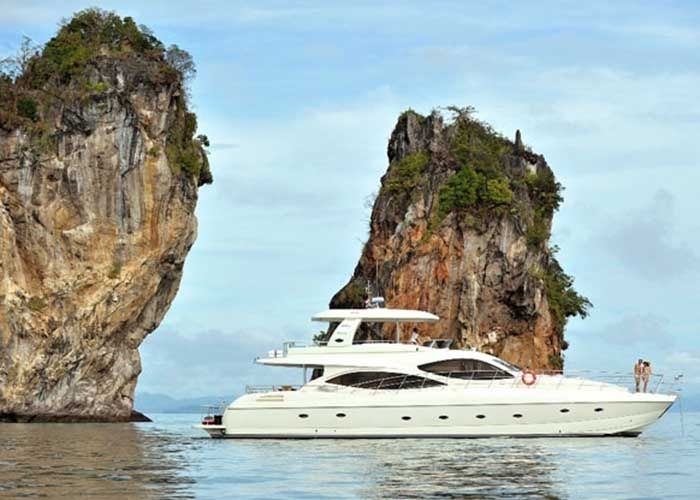 Sunbird 80 - Day Charter for 30 Guests or 4 Cabins Live Aboard - Phuket, Thailand