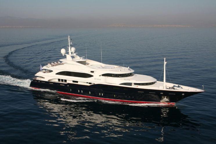 Charter Yacht SUNDAY - 60m Benetti - 6 Cabins - Athens - Mykonos - Kos
