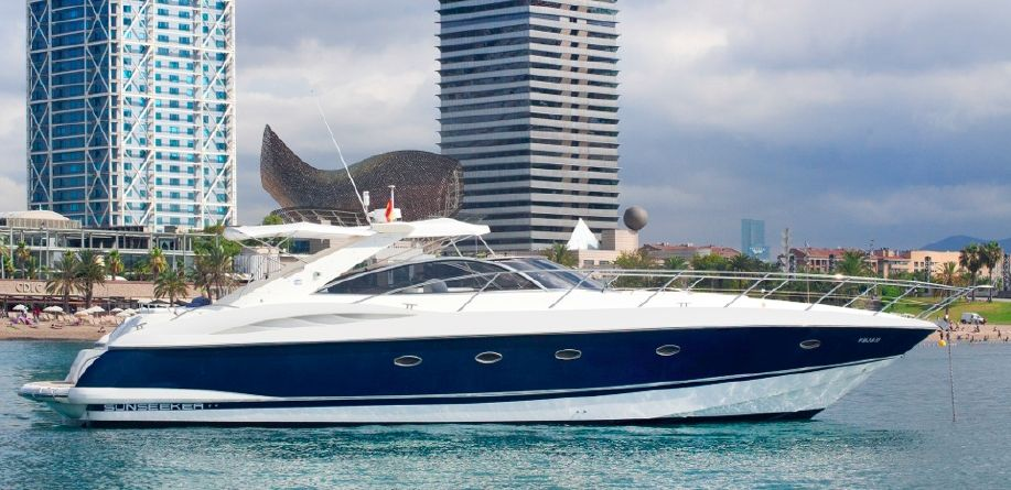 Sunseeker Camargue 50 - Day Charter for up to 9 guests - Barcelona