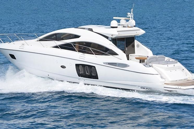Charter Yacht Sunseeker Predator 18m - 3 Cabins - Juan les Pins - Cannes - St Tropez - Monaco