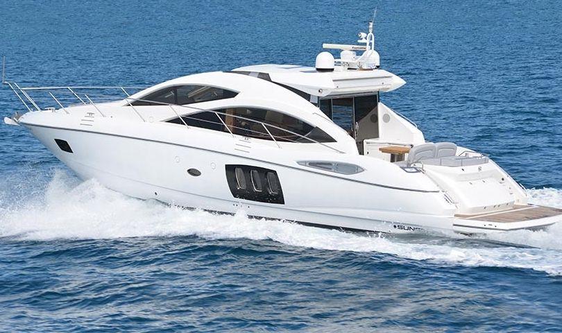 Sunseeker Predator 18m - 3 Cabins - Juan les Pins - Cannes - St Tropez - Monaco