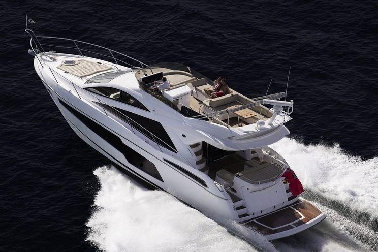 Charter Yacht Sunseeker 68 Sport Yacht - 3 Cabins - Puerto Banús - Costa del Sol - Marbella - Sotogrande
