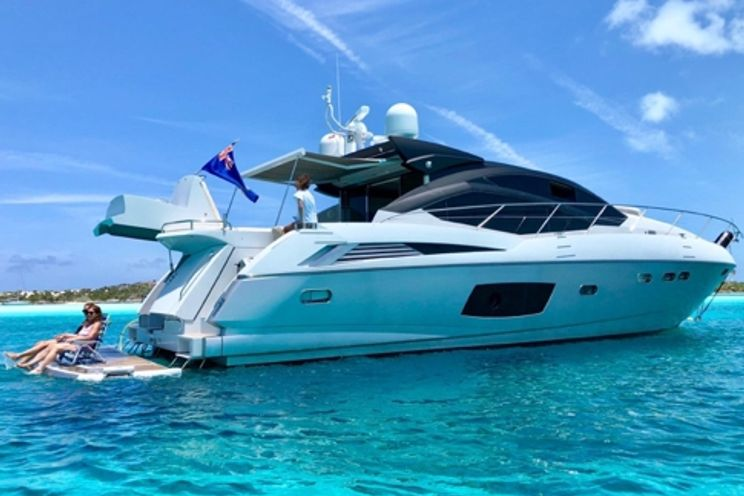 Charter Yacht Sunseeker Predator 64 - 2 Cabins - Nassau - Rose island - Exuma