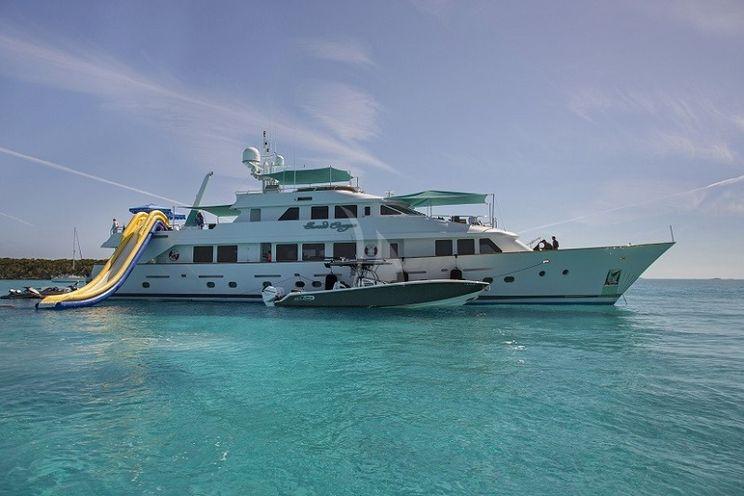 Charter Yacht SWEET ESCAPE - Christensen 130 - 6 Staterooms - Bahamas - Nassau - Exumas